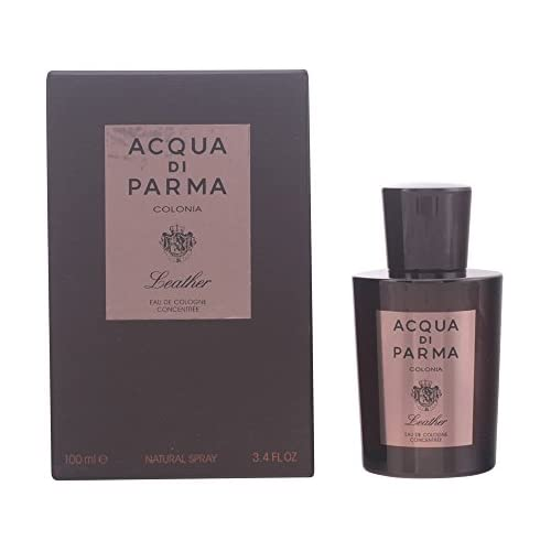 chollos oferta descuentos barato Acqua Di Parma Leather agua de colonia Concentrée Vaporizador 100 ml