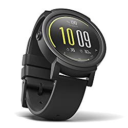 Ticwatch E Most Comfortable Smartwatch-shadow,1.4 Inch Oled Display, Android Wear 2.0,compatible With Ios & Android, Google Assistant