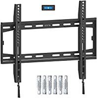 Amazon Brand - Eono Fixed TV Wall Bracket, Ultra Slim TV Wall Mount for Most 26-55 inch LED, LCD OLED and Plasma TV with...