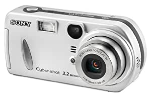 Sony DSCP72 Cyber-shot 3.2MP Digital Camera w/ 3x Optical Zoom