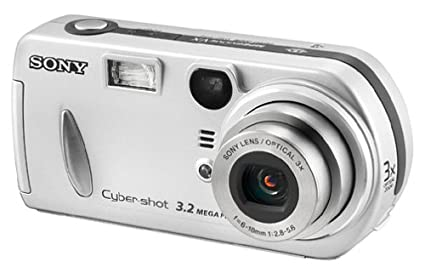 amazon com sony dscp72 cyber shot 3 2mp digital camera w 3x rh amazon com Cyber-shot HX50V Digital Camera Sony Cyber-shot DSC-H10