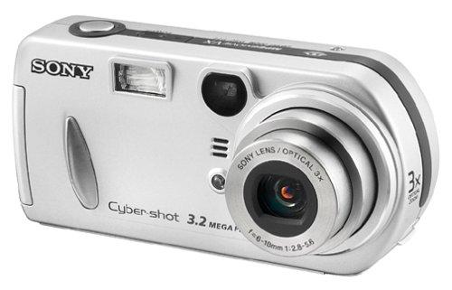 Amazon.com : Sony DSCP72 Cyber-shot 3.2MP Digital Camera w/ 3x ...