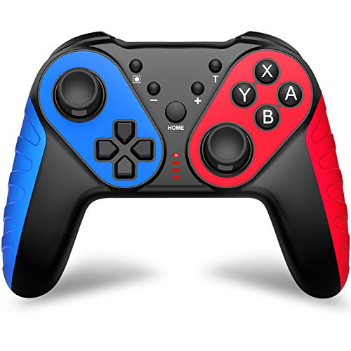 JACKiSS PRO Wireless Switch Pro Controller for Nintendo Switch/Switch Lite, Switch Remote Control Gamepad Joypad for Nintendo Switch Controller, Switch Controller with Turbo, Motion Control, Vibration