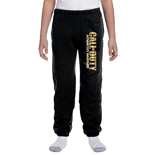 Kids Call Of Duty Advanced Warfa Gold Logo Sweatpants