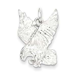 Plata esterlina del encanto del águila
