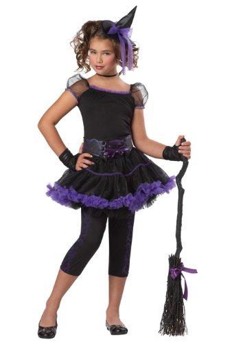 Stardust Witch (Black/Purple) Child Costume Size Small