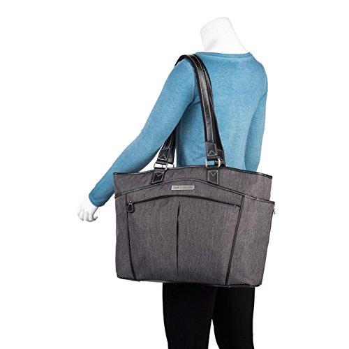 CLARK & Mayfield Reed Laptop Handtasche 43,9cm grau slate slate