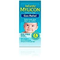 Gotas de alivio de gas Mylicon para bebés y bebés, fórmula sin colorante, 0,5 onzas de líquido