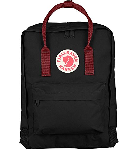 d4ad7bade6 FJALLRAVEN Kanken Water Resistant Black -Ox Red Backpack  Amazon.ca   Clothing   Accessories