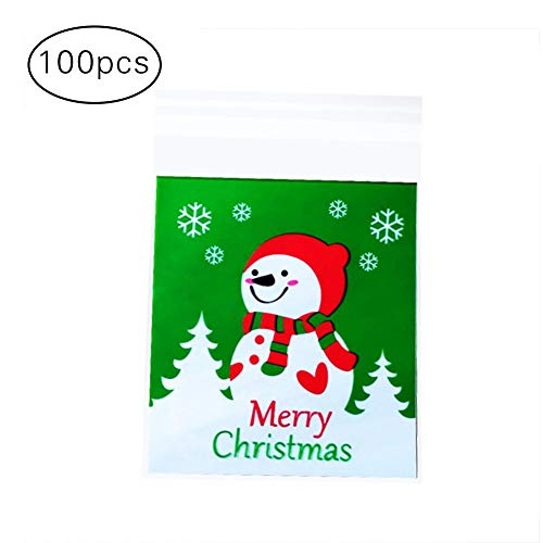 Weatherstrip Piece 10 (Hosaire 100 Pieces Paper Bags Bags Kraft Browns, for Candy Walnut Packing Wallet Bag for Bakery, Sweets, Cookies)
