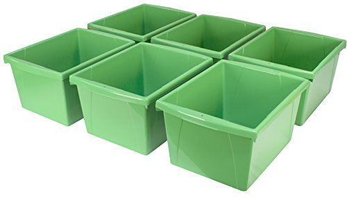 plastic letter storage containers - 6