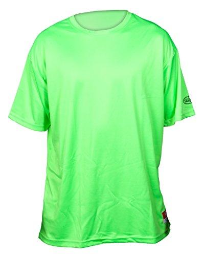 Louisville Slugger Adult Loose-Fit Shorts Sleeve Shirt, Optic Green, Small - Louisville Mens Shorts