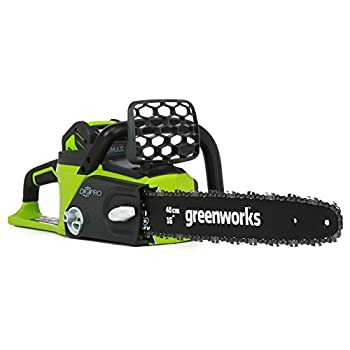 Image of Greenworks 16-Inch 40V Cordless Chainsaw, Battery Not Included 20322 Home Improvements