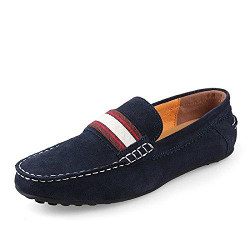 Heren Casual Suede Rijschoenen Comfort Mocassins Loafers Bootschoenen 886 Bruin
