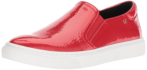 Kenneth Cole New York Women's Mara Slip On Sneaker, red Patent, 8 M US ()