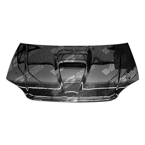 VIS Racing (94ACITR2DGF-010C) G Force Style Hood Carbon Fiber - Compatible for Acura Integra (JDM) 1994-2001 (1994 1995 1996 1997 1998 1999 2000 2001 | 94 95 96 97 98 99 00 01)
