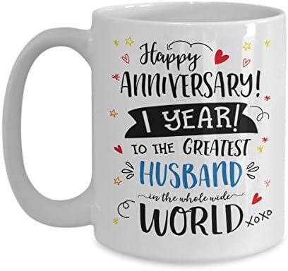 Amazon Com 1st Wedding Anniversary Gifts For Him Greatest Husband
