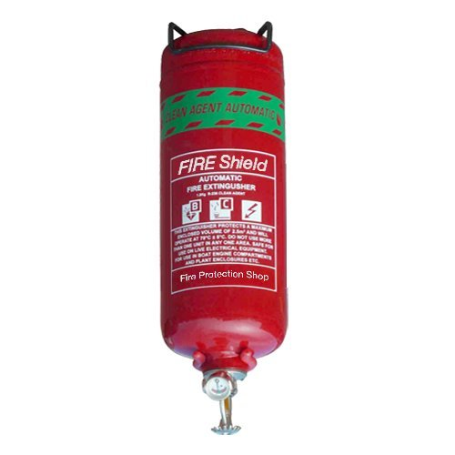 FireShield PRO AU001/006 1Kg Automatic Clean Agent Fire Extinguisher FireProtectionShop
