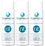 Regenepure - NT champú, champú de tratamiento nutritivo, para engrosamiento y fortalecimiento de cabello, 3-paquete de 8 onzas