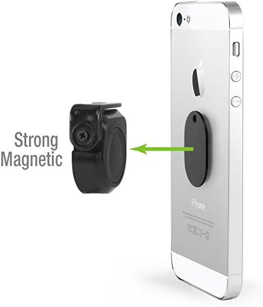 Extra Strong Magnets for Cell Phones and Mini Tablets iPhone Xs//Xs Max//Xr//X//8//7//6//5 Samsung Note 9//8//5// Galaxy S9//S8//S7//S6 Magnetic Phone Car Mount Cellet Universal Stick On Compact Flat Dashboard Magnetic Car Mount Holder