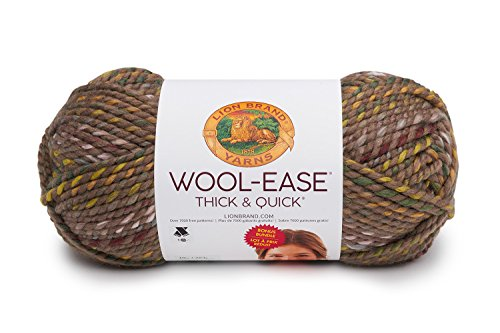 Lion Brand Yarn 641-616 Hometown Yarn, Quick Bonus Bundle, Urban - Yarn Camo