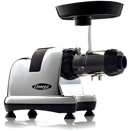Omega J8008C Masticating Low Speed Dual Stage Extraction Juicer