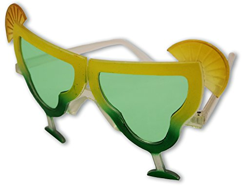 Margarita Sunglasses (Margarita Shaped Fun Novelty Sunglasses)