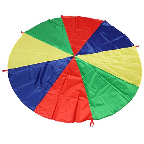 Science Purchase Parachute with 8 handles Game, 12' ()