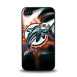 iPhone 6 plus 5.5 case protective skin cover with Miami Dolphins team logo design #2