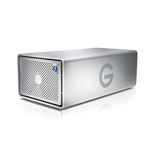 Dual Media Storage (G-Technology G-RAID with Thunderbolt Dual Drive Storage System 16TB (Thunderbolt-2, USB 3.0) (0G04097))