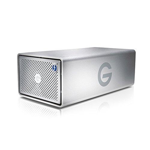 G-Technology G-RAID with Thunderbolt Dual Drive Storage System 8TB (Thunderbolt-2, USB 3.0) (0G04085)