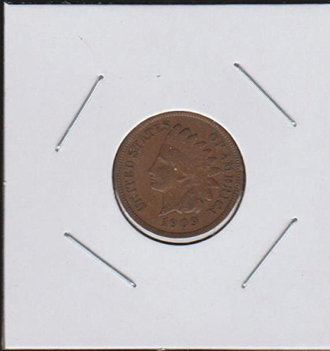 1909 Indian Head (1859-1909) (Full Liberty) Penny Choice About Uncirculated Details