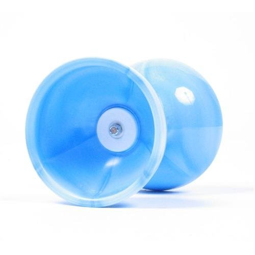 Sundia Fly Diabolo - Triple Bearing - Light Blue - Free Wood Sticks and String [並行輸入品] B0753ZJFKS