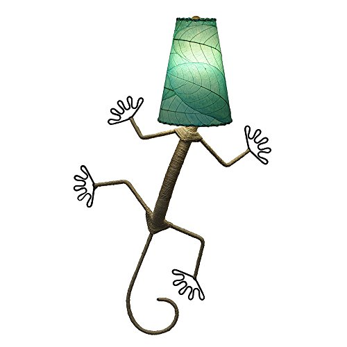 Eangee Home Designs Wall Sconce Lamp Light Gecko - Color Sea ()