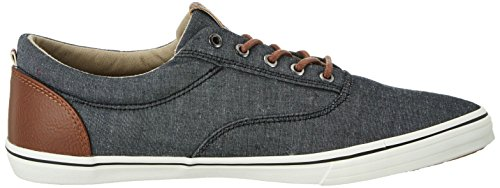 Jack & Jones Mens Antracit Jfwvision Chambray Mix Tränare Antracit