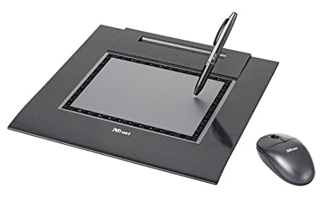 Trust Slimline Design Tablet TB-6300 200 x 150mm USB Tableta ...