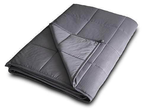 DensityComfort Weighted Blanket 15 lbs Adult 60x80 Queen Size | 100% Certified Oeko-TEX Cotton |...