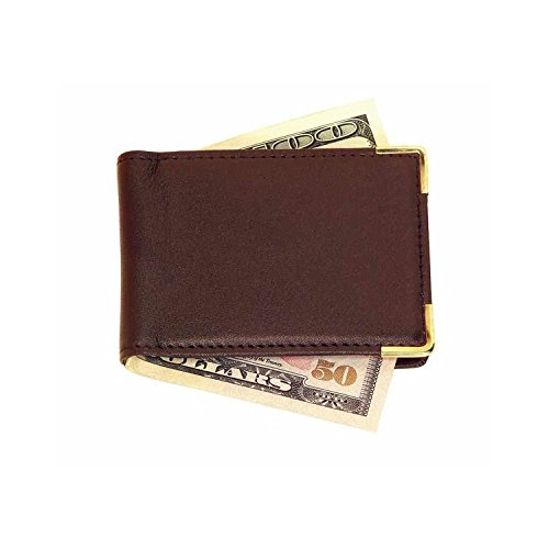 Royce Leather Large Magnetic Money Clip (811-COCO-5) (Lambskin Clip Money)