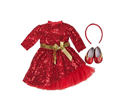 Clothes For Ask Amy Doll  Red
