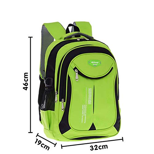 vert big-vbj4  QWKZH Sac à Dos Nouveau Mode Haute Qualité Oxford Enfants Sacs D'école Sacs à Dos Brand Design Adolescents étudiants Voyage étanche voituretable