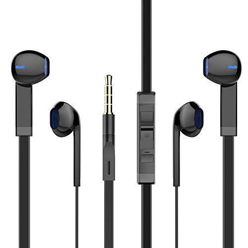 PWOW In-Ear Headphones with Microphone