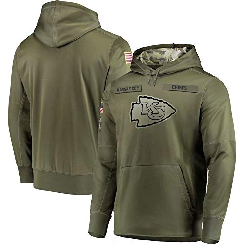 Dunbrooke Apparel Kansas City Chiefs Salute to Service Hoodie Camo Men S (Kansas City Chiefs Salute To Service Gear)