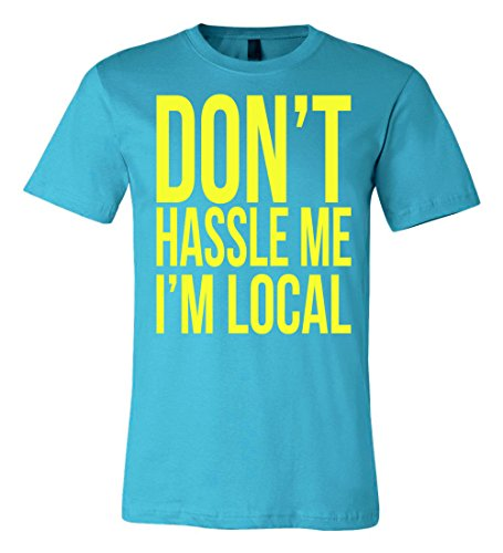 Dont Hassle Me Im Local T-Shirt   Funny Retro Murray Mens Tee