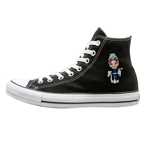 [Peking Opera Unisex Hi-tops Canvas Shoes Unisex Canvas Shoes] (Thieves In Time Costumes)