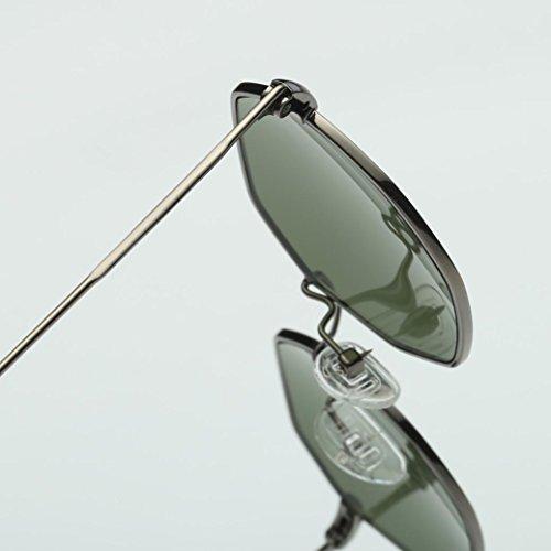Hombres metal de Colour Frame Mujeres La marca sol Winwintom D irregularidad Classic de moda gafas 5g1wWqU