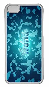 MEIMEI Customized ipod touch 5 PC Transparent Case - We Are The World Personalized CoverLINMM58281