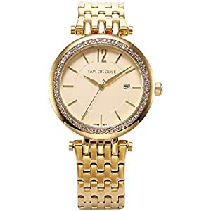 Taylor Cole Dress Watch For Women Analog Stainless Steel - AG002s
