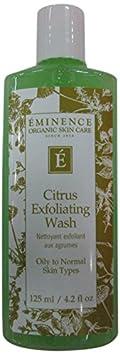 Eminence Citrus Exfoliating Wash, 4.2 Ounce