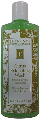 - Eminence Citrus Exfoliating Wash, 4.2 Ounce