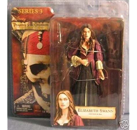 Piratas del Caribe 3 Series Elizabeth Swann figura de acción ...